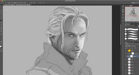 Dragon Age: Anders (WIP) by DavidDarkheartKing