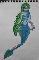 Mermiad/Siren by SexySideburnss