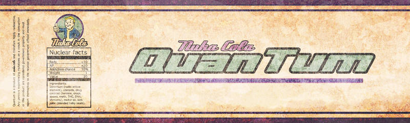 Nuka Cola Quantum by justinpterry