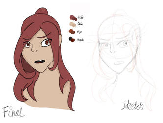 Character Design Experiment - Mary by ZoraShah