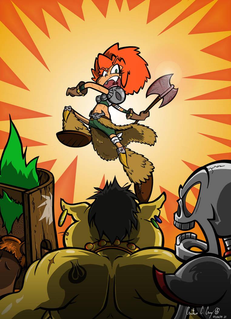 Calista - Wild Warrioress by OchoBitAnimations