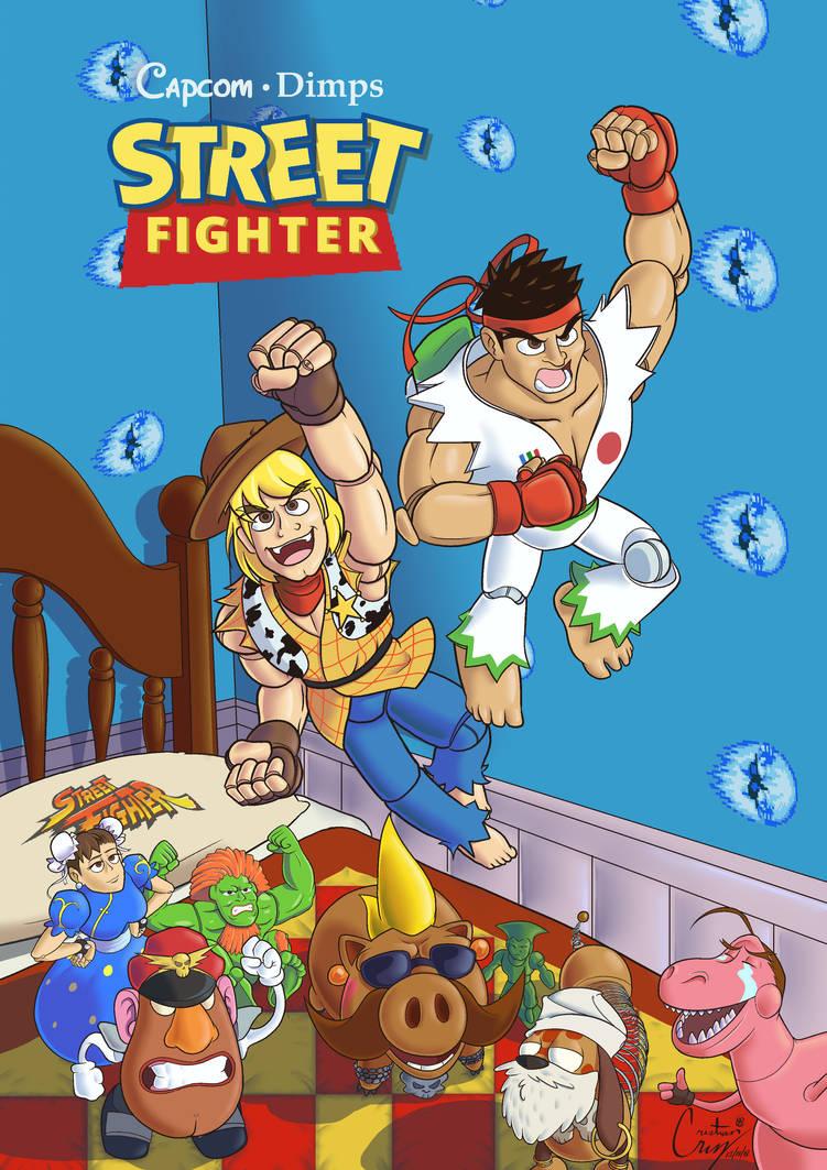 Toy Fighter by OchoBitAnimations