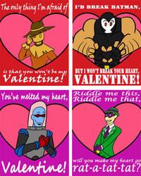 Batman Villain Valentines 1 by KaterraTheAvatar