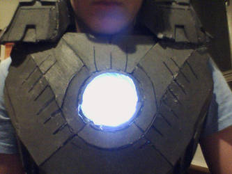 Iron Man Mark VII Arc Reactor WIP by KaterraTheAvatar