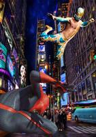 Sin Cara vs Spider-Man? by stick-man-11