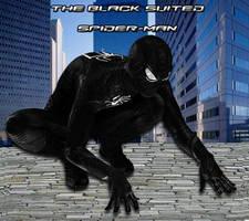 Black Suited Spider-Man. by stick-man-11