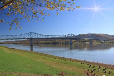 Madison, Indiana Bridge by mim304