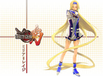 Millia Rage from Guilty Gear by datacenter
