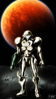 Samus Aran - The Knight in Shining Armor by 0Riku-kun0
