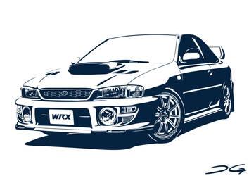 Subaru Impreza WRX by DirtyGeneral