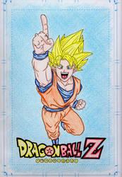 DBZ Goku Trace by DirtyGeneral