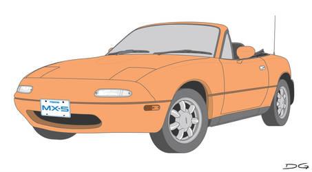 Mazda MX-5 Vector by DirtyGeneral