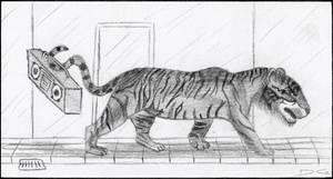 Tiger Pencil by DirtyGeneral
