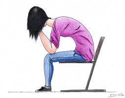 Sad Girl by DirtyGeneral