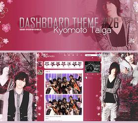 Tumblr Dash 26 -Kyomoto Taiga- by Min-Jung
