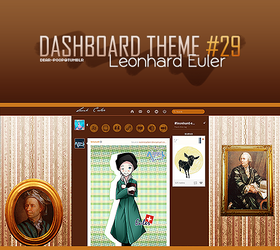 Tumblr Dash 29 -Leonhard Euler- by Min-Jung