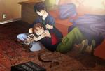::Relax Time::DuoxHeero::Sharona1x2Commission:: by Suobi-chan