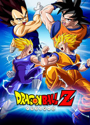 Poster Dragon Ball Z: Vegeta VS Goku by Dony910