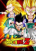 Poster Dragon Ball Z: Gotenks by Dony910