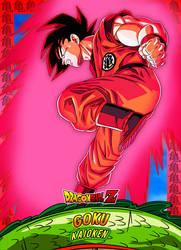 #7 Card Goku Kaioken by Dony910