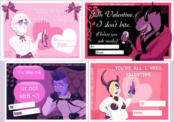 Job Satisfaction Valentines by JeyBarnes