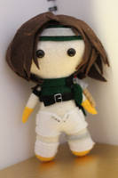 Final Fantasy 7 inspired plush : Yuffie Kisaragi by TheForgottenPixel