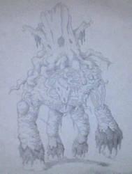 Detritus Elemental by Thorn-king