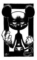 MICKEVIL Mouse by saddamoil