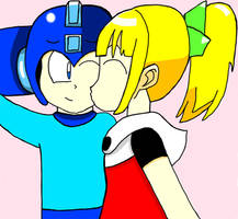 Mega Man RockxRoll by DylanBoorstein