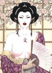 Ai Geisha by Viviane-ch