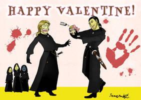 HAPPY VALENTINE FOR MATHIU! by samejimachich