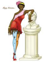 valentine lady! by samejimachich