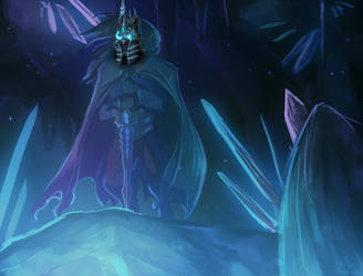 Lich King Corvus by SkullCroos