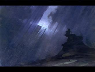 Hard rain by APetruk