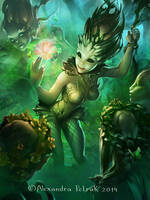 Dryads magic by APetruk