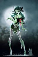Zombie Girl by APetruk