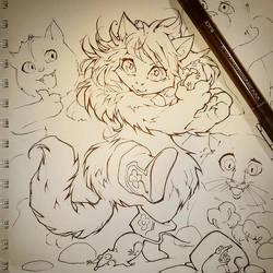 Pshunya the cat by APetruk