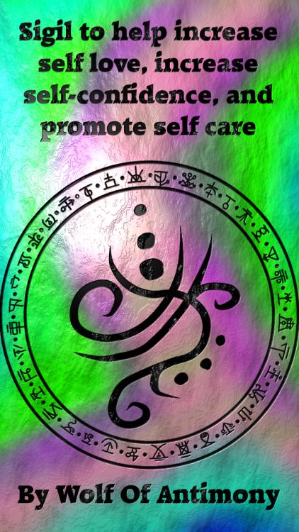 Sigil to help increase self love... by WolfOfAntimony