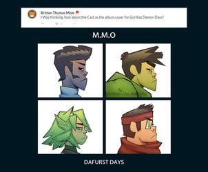 Weekly Doodles - DAFURST DAYS by RandoWis