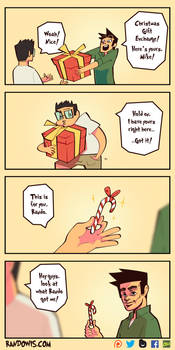 Gift Exchange by RandoWis