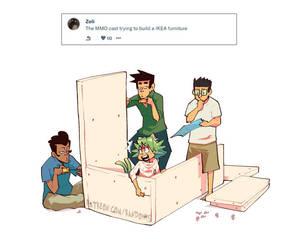 Weekly Doodles - IKEA by RandoWis