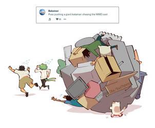 Weekly Doodles - Catamari by RandoWis
