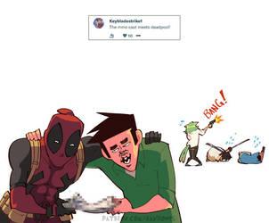 Weekly Doodles - Deadpool by RandoWis