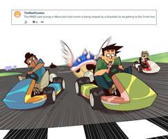 Weekly Doodles - Mario Kart by RandoWis