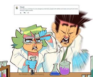 Weekly Doodles - Chemistry by RandoWis