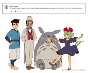 Weekly Doodles - Ghibli Style? by RandoWis
