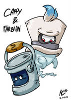 Cappy und Farbian | FreeArt #53 by blue-hugo