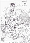 InkArt #9: Vorgabenrunde - Aegypten by blue-hugo