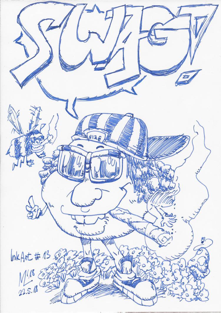 InkArt #13: Swag Jack is in da House! by blue-hugo