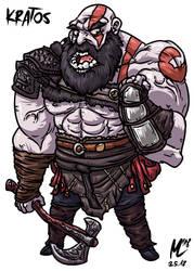 Kratos | FreeArt #83 by blue-hugo